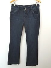 Kut from the Kloth Women Size 10 Natalie High Rise Bootcut Dark Blue Denim Jeans