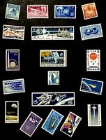 US C76 Space Stamp Moon Landing JFK NASA Science STEM History Collection WIN KIT