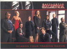 BATTLESTAR GALACTICA SEASON 4 2009 RITTENHOUSE ARCHIVES PROMO CARD P1