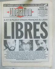 LIBERATION N° 2163 du 05-05-1988