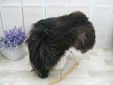 GENUINE ICELANDIC SHEEPSKIN RUG CURLY FUR MONGOLIAN CHAIR SOFA COVER G905