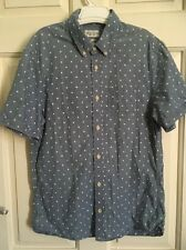 ALL SAINTS IMPERIAL SHORT SLEEVE SHIRT Size s