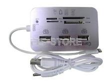 3ports USB card reader Hub Adapter for Apple iphone 6s iPad 4 5 air Mini SD TF M