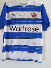 Reading 2010-2011 Squad Signed BNWT Home Football Shirt COA /41733