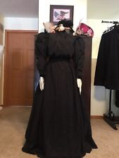 Antique Victorian Dress Two-Piece Skirt Blouse