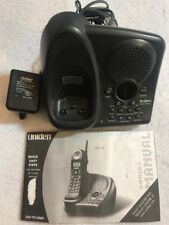 Uniden EXAI 978 Series Telephone BASE ONLY & Power Supply & Manual
