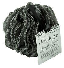 (2 Pack) Clean Logic Purifying Charcoal Mesh Bath Sponge