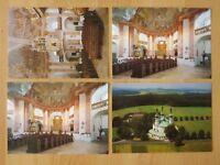 AK 4x alte Ansichtskarte Kappl Wallfahrtskirche Kirche Kappel bei Waldsassen