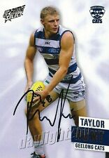 ✺Signed✺ 2013 GEELONG CATS AFL Card TAYLOR HUNT