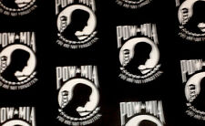 POW/MIA USA Handmade DBL Side Wirenose Washable Face Mask Elastic Behind Ear.