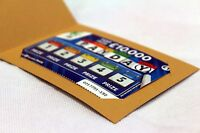 10 Lottery ticket scratch card holder Lotto Wedding Gift Favours lucky in love