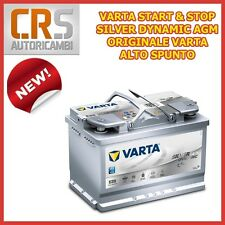 BATTERIA AUTO VARTA E39 START & STOP SILVER DYNAMIC AGM 70 AH 760A - VW GOLF