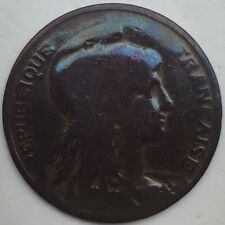 France 10 centimes Dupuis 1907 bronze #1290
