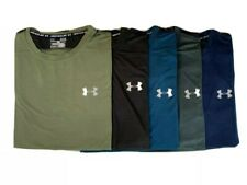 UA-Men-Heat Gear -Sports-Training-Gym-Yoga-Running-Football-T-Shirt