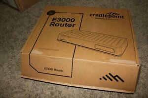 Cradlepoint E3000 Router BFA1-3000C18B-GN Enterprise Router Mint in Box