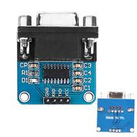 5/10PCS MAX3232 RS232 Serial Port To TTL Converter Module Board Female DB9
