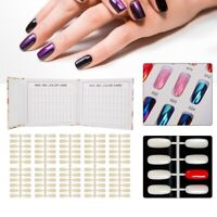 120 Tips Colors Chart Display Book For UV Gel Polish Nail Art Tool Manicure New