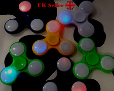 10 pcs Joblot LED  Fidget finger hand spinner wholesale high quality bulk