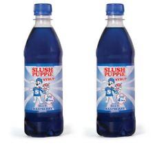 Official Slush Puppie Frozen Blue Raspberry Syrup for Ice Slushie Drink