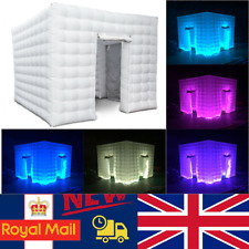 2 Door 2.5m LED Color Bulb Strip Inflatable Photo Photography Booth Enclosure+RC