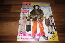 SABRINA KIDS KINDERMODE S 312 -- NÄHEN in GRÖßE 80-170 // WINTERMODE im TREND