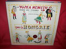 YOSKA NEMETH Et Son Orchestre Tzigane Toute La Hongrie LP 1955 FRANCE MINT-