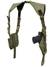 Condor Tactical Vertical Shoulder Holster & Double Mag - O.D. Green #ASH