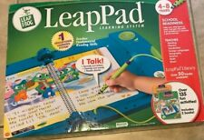 Leap Pad Learning System w/ 2 Books & Pen Leap Frog NEW Factory Sealed