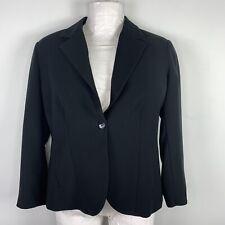 Chicos Platinum Womens Suit Jacket Sz 2 Sz XL Black Occasion Career Blazer R54
