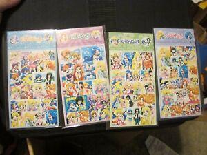 Mermaid Melody Pichi Pichi PItch 4 sticker sheets anime manga magical girl