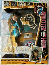 Monster High Picture Day Cleo de Nile 2012 NRFB Retired
