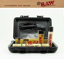 STICKS ANYWHERE BOX AUTHENTIC RAW COMBO Papers Lighter Roll Mat Smell Proof Bags
