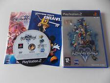 Kingdom Hearts 2 Ps2 Eccellente 1a Stampa Italiana Con Manuale & Foglietto