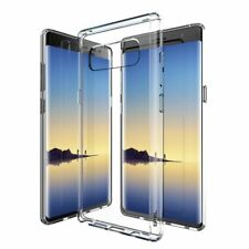 GPEL® Galaxy Note 8 Ultra Clear Hybrid Case TPU-Bumper Scratch-Resistant Coating