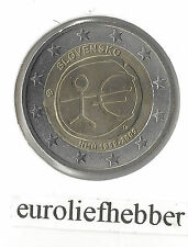 Slowakije    2 Euro 2009   EMU  10 Jaar Euro   IN STOCK