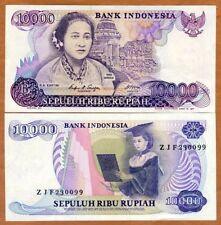 Indonesia, 10000 (10,000) Rupiah, 1985 P-126, UNC