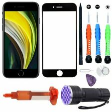 For Apple iPhone SE 2020 Front Outer Screen Replacement Glass Lens Tool Kit Glue