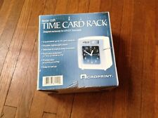 Acroprint 25 Card Time Card Rack Model 120R ~ New in Box!