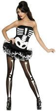 Fever Skeleton Tutu Costume Dress Adult Size Large