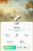 Pokémon Go Account Level 20 Shiny Eevee