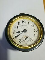 Antique Tillery's Little Janitor Clock WORKING CONDITION Vintage Clock