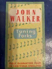 More details for set of 13 john walker tuning forks in case