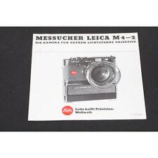 Brochure - Leitz/Leica - messucher Leica M4-2 - The Camera for Extreme
