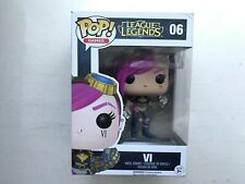 BOXED FUNKO POP VINYL LEAGUE OF LEGENDS VI #06 FIGURE GAMES SERIES