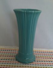Fiestaware Turquoise Medium Vase Fiesta Blue 9 5/8 inch Flared Flower Vase