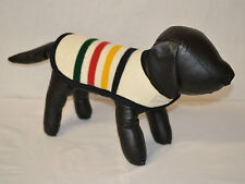 Glacier National Park DOG COAT handcrafted of Pendleton Wool blanket fabric NEW
