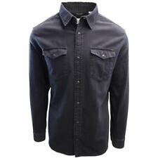 Jack & Jones Men's Black Denim Slim Sheridan L/S Shirt (Retail $59.50)
