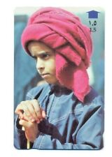 1997 Collectible Vintage Phone Card -Bedouin Boy from Sultanate of Oman