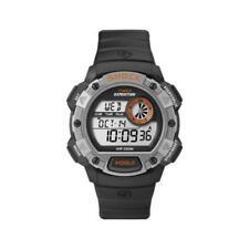 Orologio Uomo TIMEX SHOCK T49978 Digitale Silicone Nero Grigio Chrono Timer