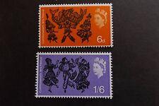 GB MNH STAMP SET 1965 Arts Festival (ord) SG 669-670 UMM